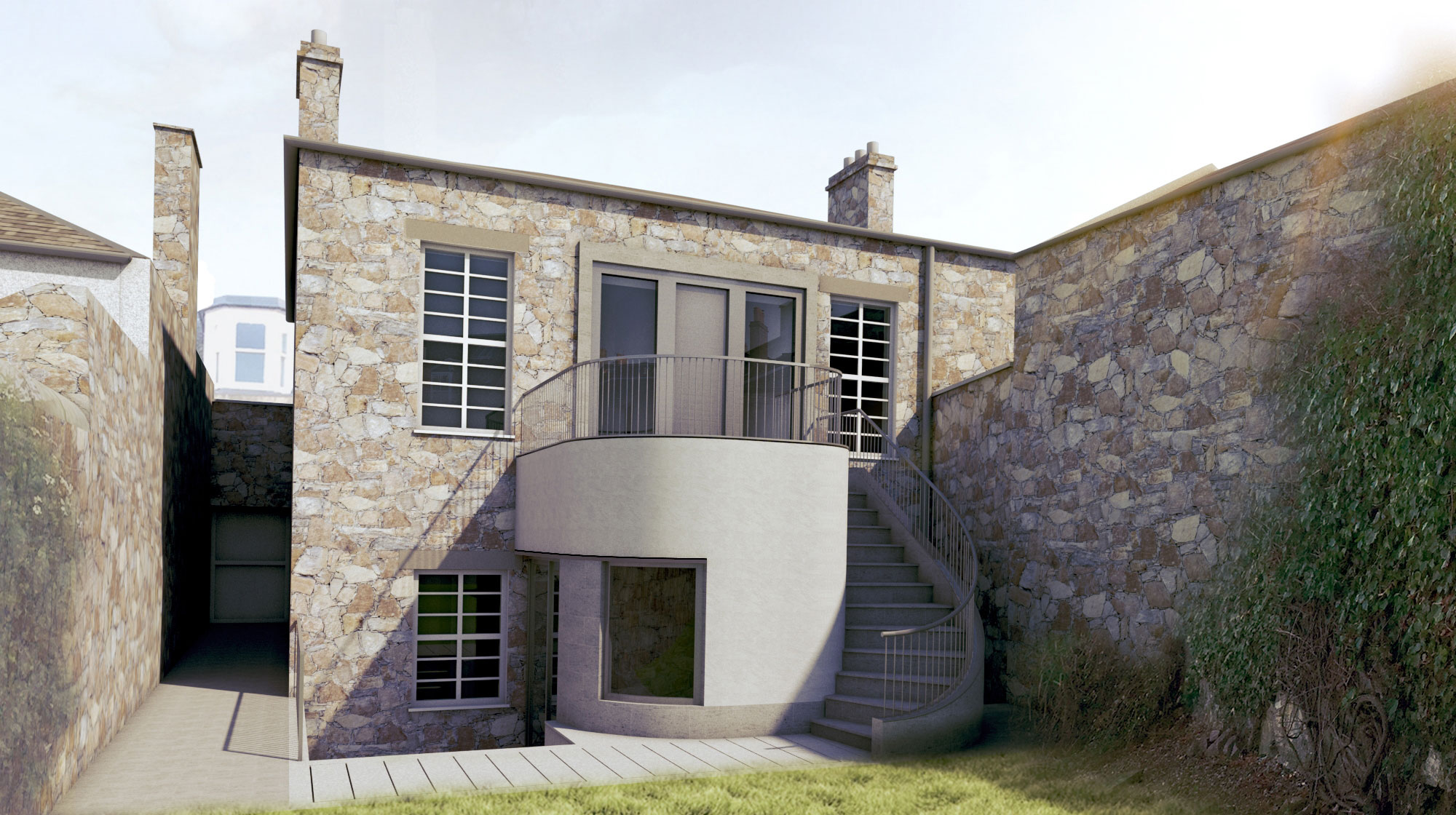 Next stage of the designs for Portobello house extension underway,